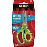 """Детские ножницы 3M """"Sotch"""" салатовые, 12 см"""