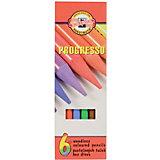"""Набор цветных карандашей KOH-I-NOOR """"Progresso"""", 6 цветов"""