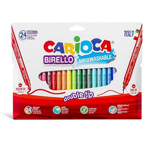 """Набор двухсторонних фломастеров Carioca """"Birello"""", 24 цвета от Carioca"""
