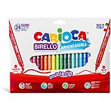 """Набор двухсторонних фломастеров Carioca """"Birello"""", 24 цвета"""