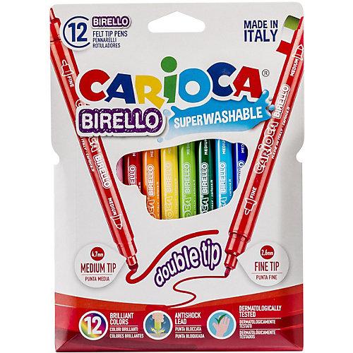 """Набор двусторонних фломастеров Carioca """"Birello"""", 12 цветов от Carioca"""