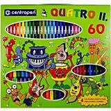 """Подарочный набор Centropen """"Quatro II"""", 60 предметов"""