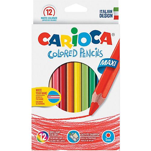 """Набор крупных цветных карандашей Carioca """"Maxi"""", 12 цветов от Carioca"""