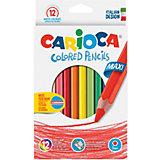 """Набор крупных цветных карандашей Carioca """"Maxi"""", 12 цветов"""