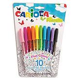 """Набор шариковых ручек Carioca """"Fiorella"""", 10 цветов"""
