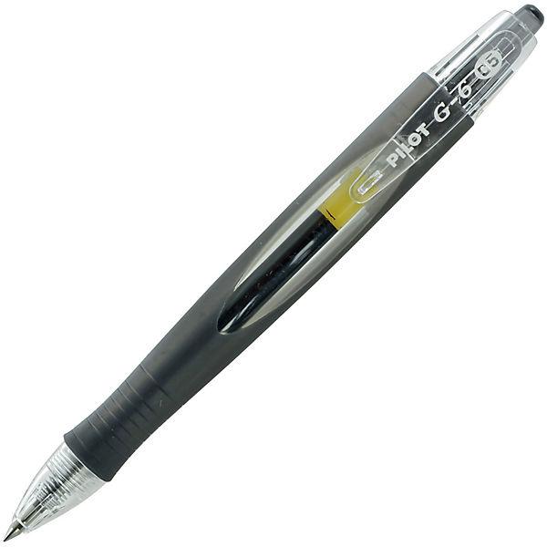 """Гелевая ручка Pilot """"G-6"""", чёрная"""