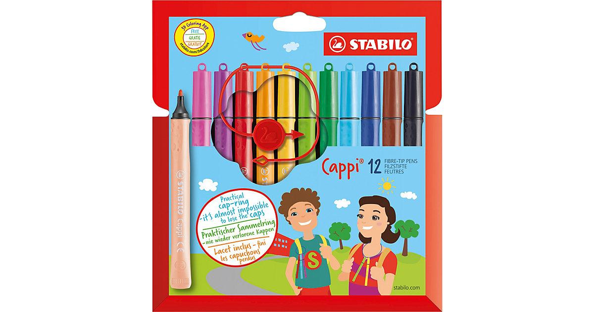 Filzstifte Cappi, 12 Farben