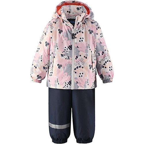 Комплект Lassie: куртка и полукомбинезон - rosa/grau от Lassie