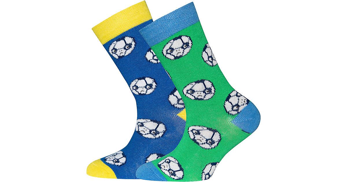 ewers · Socken Doppelpack , Fußball Gr. 23-26 Jungen Kleinkinder