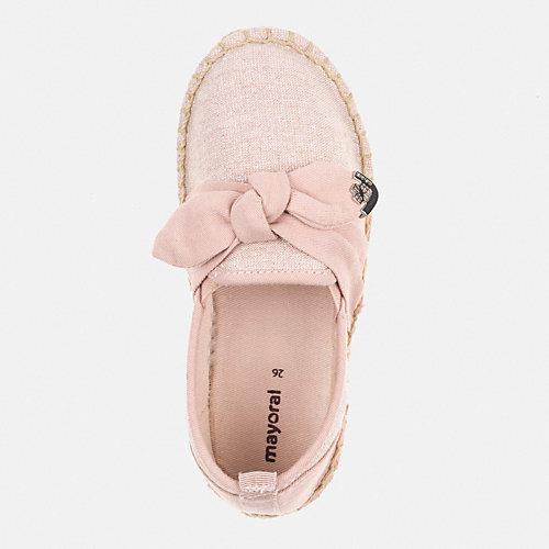 Слипоны Mayoral - блекло-розовый от Mayoral