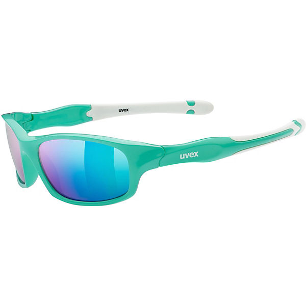 uvex Sonnenbrille sportstyle 507 green wh./mir.green