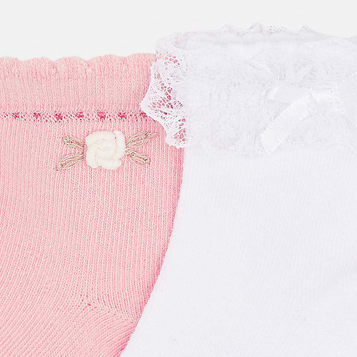 Носки Mayoral, 2 пары - розовый от Mayoral