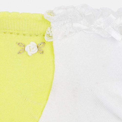 Носки Mayoral, 2 пары - желтый от Mayoral