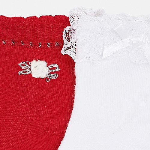 Носки Mayoral, 2 пары - красный от Mayoral