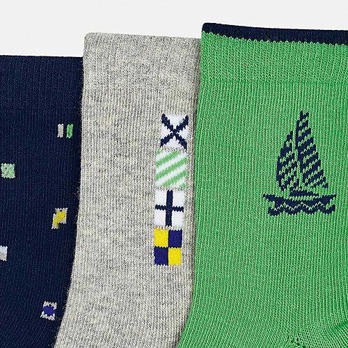 Носки Mayoral, 3 пары - зеленый от Mayoral