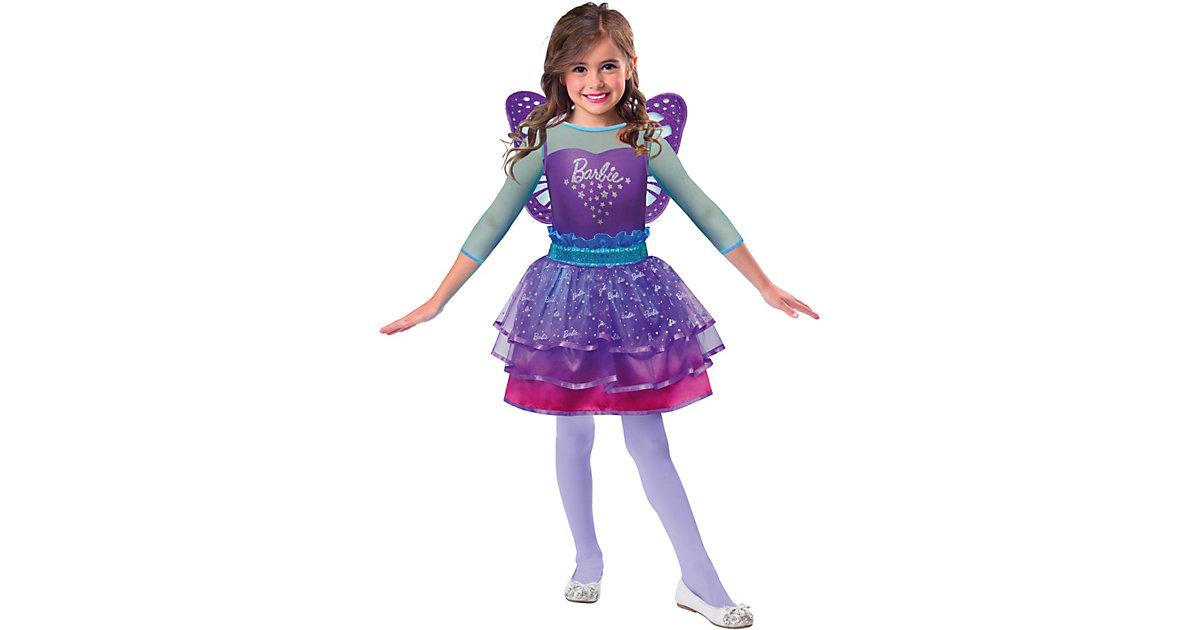 Kostüm Barbie Rainbow Fairy lila Gr. 104/110 Mädchen Kleinkinder
