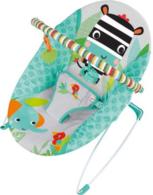 Topmark Babywippe Toby inkl Spielbügel aqua NEU