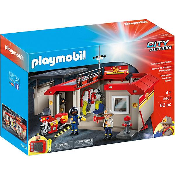 Feuerwache Spielzeug Bestseller -Feuerwehrstation zum Mitnehmen