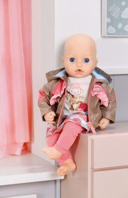 43 cm lang Babypuppe Puppe von Zapf Creation Trinken und Pippi