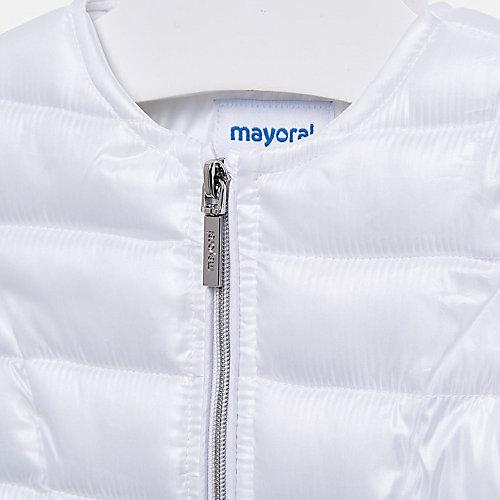 Утепленная куртка Mayoral - белый от Mayoral