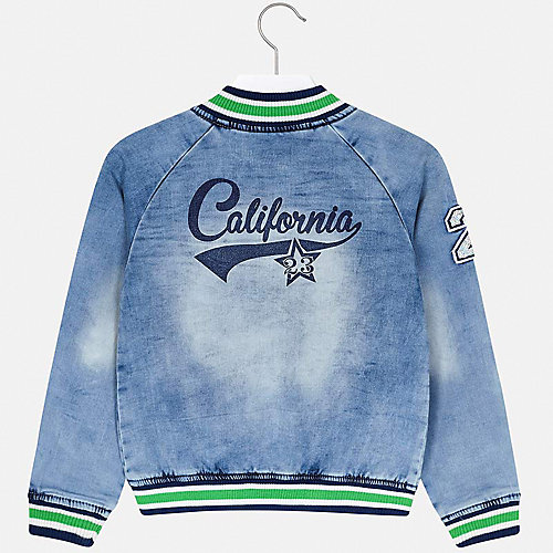 Джинсовая куртка Mayoral - голубой от Mayoral