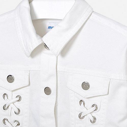 Джинсовая куртка Mayoral - белый от Mayoral