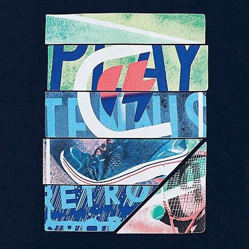 Комплект Mayoral: футболка и шорты - синий/зеленый от Mayoral