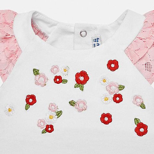 Комплект Mayoral: футболка и шорты - розовый от Mayoral
