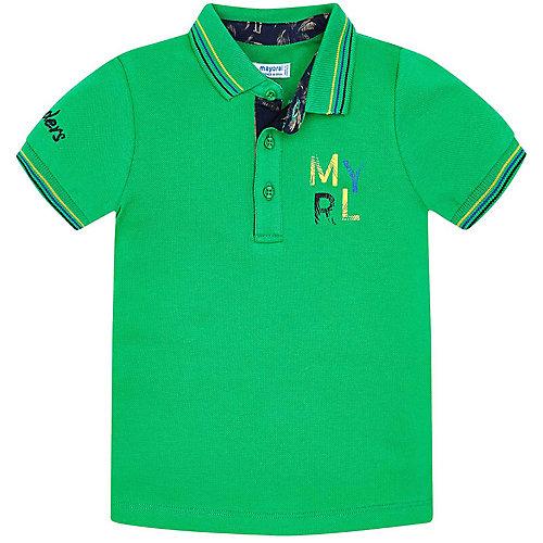 Поло Mayoral - зеленый от Mayoral