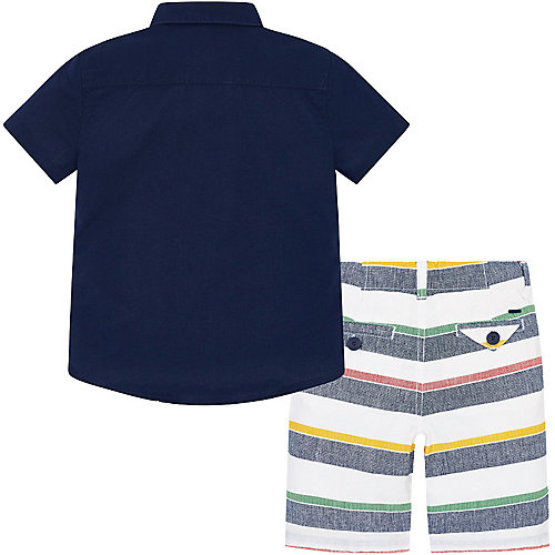 Комплект Mayoral: поло и шорты - темно-синий от Mayoral