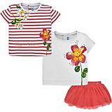 Комплект Mayoral: 2 футболки и юбка