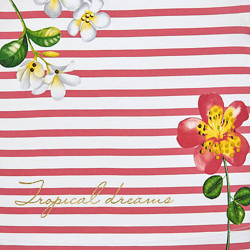 Комплект Mayoral: 2 футболки и юбка - розовый от Mayoral
