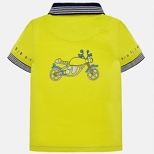 Поло Mayoral - желтый от Mayoral