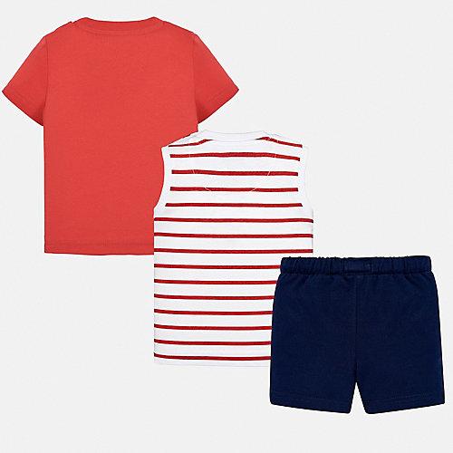 Комплект Mayoral: футболка, майка и шорты - mehrfarbig от Mayoral