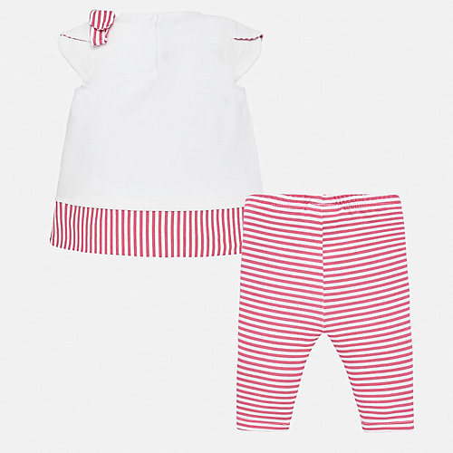 Комплект Mayoral: футболка и леггинсы - розовый от Mayoral