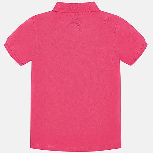 Поло Mayoral - розовый от Mayoral