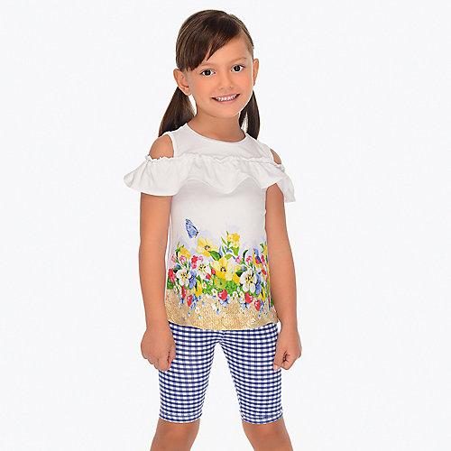 Комплект Mayoral: футболка и леггинсы - синий от Mayoral