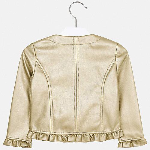 Кожаная куртка Mayoral - золотой от Mayoral
