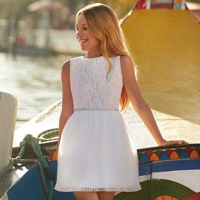 Платье Mayoral для девочки - белый