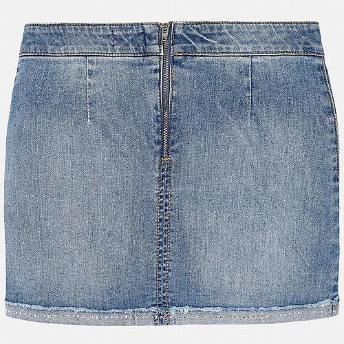 Джинсовая юбка Mayoral - белый от Mayoral