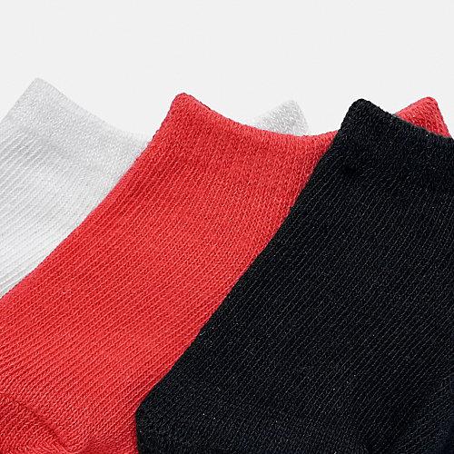 Укороченные носки Mayoral, 3 пары - розовый от Mayoral