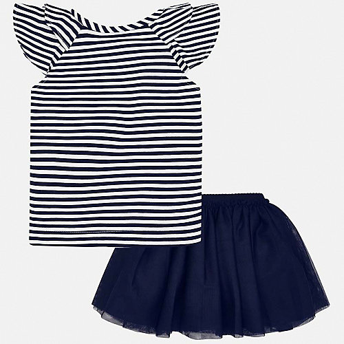 Комплект Mayoral: топ и юбка - темно-синий от Mayoral