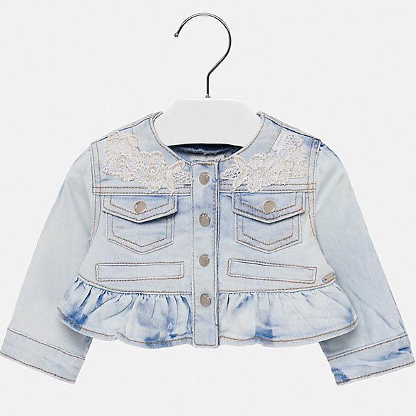 Куртка джинсовая Mayoral для девочки