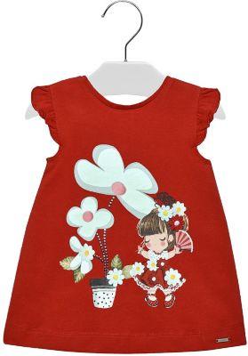 Платье Mayoral - красный