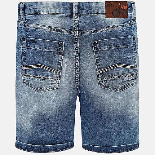 Джинсовые шорты Mayoral - синий от Mayoral
