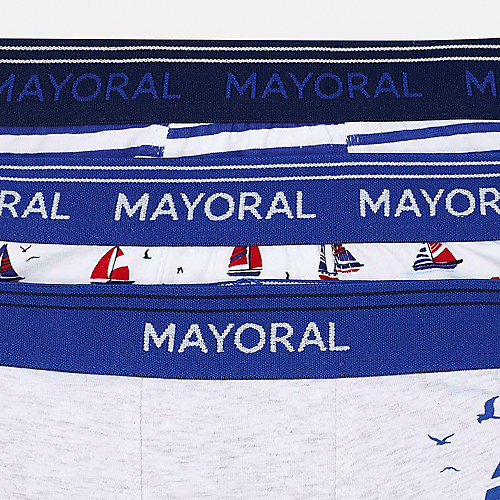 Трусы Mayoral, 3 шт - белый от Mayoral