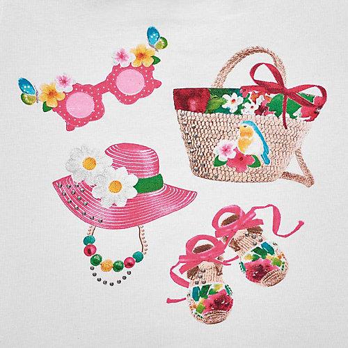 Комплект Mayoral: майка и шорты - розовый от Mayoral