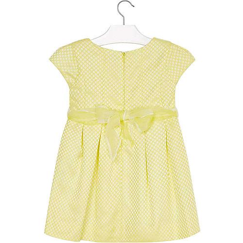 Нарядное платье Mayoral - желтый от Mayoral