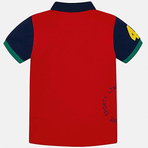 Поло Mayoral - красный от Mayoral
