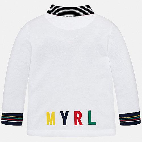 Поло Mayoral - белый от Mayoral
